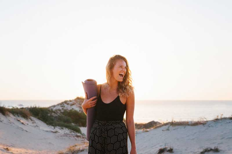 Meet the locals: Laura Wilkes from The Yoga Barn